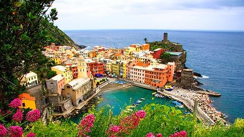 Les cinq villages cinque terre italie for Appart hotel 5 terres