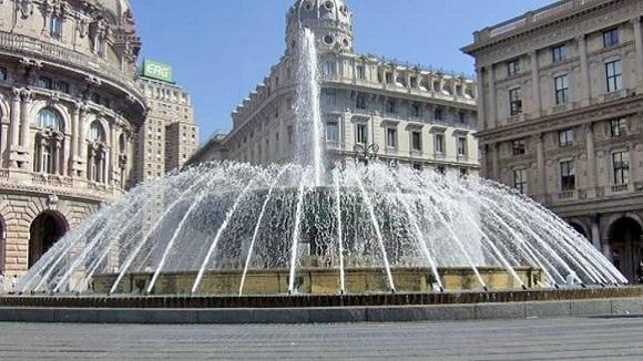 La grande fontaine de Gênes