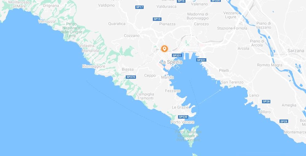 Carte Stasher Cinque Terre