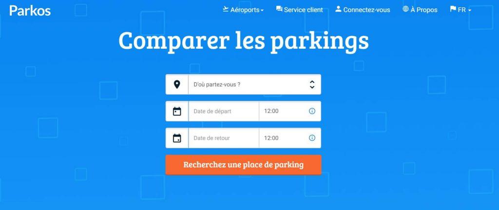 Site Arkos Parking